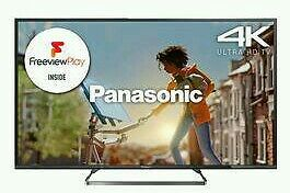 "Panasonic 55"" 4K UHD SMART WIFI TV HD FREEVIEW. HARDLEY USED IN GOOD"