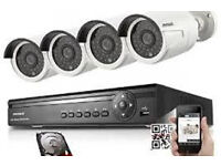 silver hdmi cctv camera hq systm installation supplied and fitting