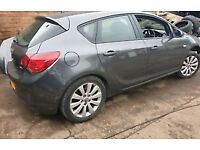 Vauxhall Astra j 2.0 cdti breaking parts