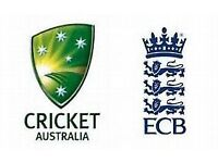 4 X GOLD Cricket Tickets England v Australia ICC Champions Trophy