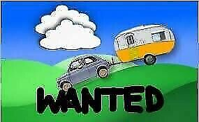 Wanted: WANTED: ALL CARAVANS: ANY SIZE OR CONDITION.