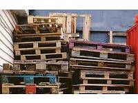 For FREE -10 wooden pallets for collection