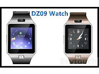 DZ09 smart watch sim card £25 each 2 for £45 and headphones. bluetooth