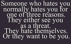 Moral: Haters gon' Hate