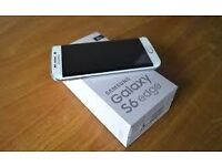 samsung galaxy s6 edge white BRAND NEW
