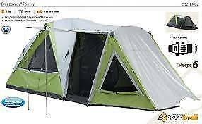 OzTrail Breezeway Family 6 person tent - very good condition