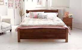Warren Evans single bed (teak stain)