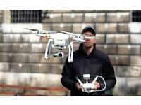 Aerial Quadcopter / Drone Videographer and Photographer available