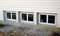 Looking  for basement windows