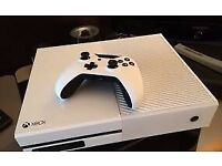 White xbox one S like new