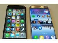 iPhone 7 plus and Samsung galaxy s7 edge plus