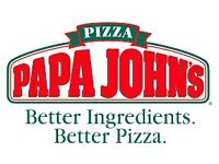 Papa Johns Drivers WANTED.