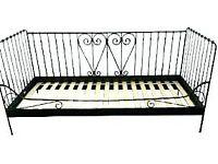 Ikea bed frame (no slats)