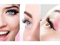 Individual and Russian volume eyelash extenshian