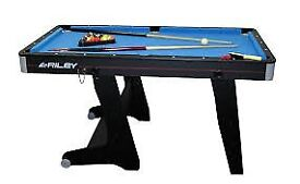 6ft Riley Pool Table (BLUE)