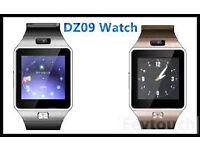 DZ09 and m9 model sim card smart watch £25 each 2 for £45 special offer .headphone. bluetooth