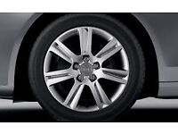 audi a4 alloys brand new tiers need gone