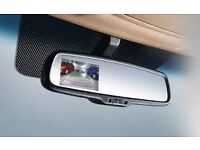 REVERSE PARKING REAR-VIEW MIRROR and CAMERA SUPPLIED + FITTED IN AND AROUND LONDON