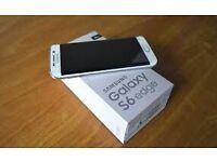 SAMSUNG GALAXY S6 EDGE 64GB UNLOCKED BOXED MINT £250
