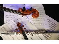 ORCHESTRA FINSISHED FOR SUMMER -COME & HAVE SOME FUN PLAY QUARTETS- VIOLA, FLUTE, VIOLIN ARE WELCOME