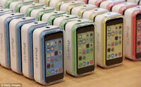 IPHONE 5C BOXES WITH ALL ACCESSOREIS ALL COLORS