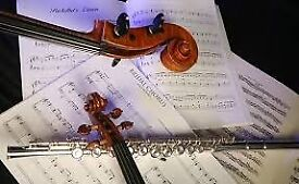 EDINBURGH IS ALIVE WITH THE SOUND OF MUSIC -JOIN IN MAKING MUSIC (WED 01/08/18: GREAT CHAMBER MUSIC)