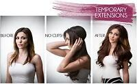 """HAIR EXTENSIONS=THE """"HALO"""" THE ORIGINAL NOT A REPLICA"""