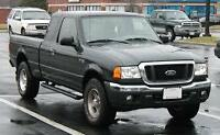 WANTED 2001-2005 FORD RANGER FRONT BUMPER---SOLID--
