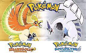 ISO pokemon soul silver or heart gold