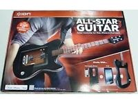 ION Audio All-Star Guitar Controller for iPad/iPod/iPhone, only used once