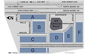 *RED PARKING PASS* MINNESOTA TWINS @ CHICAGO WHITE SOX THUR 7/25/2019