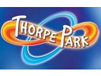 2 x Thorpe Park Tickets (valid for one day only on the 10/07/17)