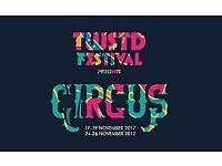 2X TWSTD FESTIVAL TICKETS £230 24-26TH NOV