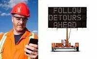 PORTABLE TRAFFIC SIGNS VIA CELLULAR NETWORKS