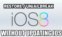 $20 ♛ UN-JAILBREAK ⇨ Without Updating iPhone iPad iPod ⇨ iOS