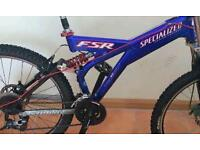 Specialized fsr frame and some extra parts to go for sale