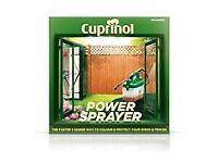 Fence / shed power sprayer