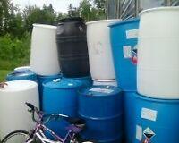 55 Gallon Barrels [solid plastic]