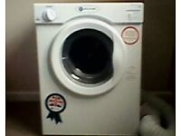 White knight 3kg Tumble Dryer for sale