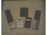 Retro Scientific Calculators