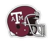 Texas A&M Helmet Decals