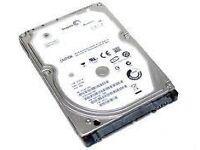 500gb Sata hard drive laptop/ps4/xbox one