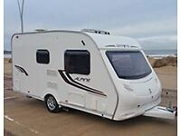 2011 Swift - Sprite Alpine 2 Caravan - 2 berth with new Powertouch mover.