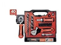 Ratchet/Socket Set POWERFIX 40 Piece Set