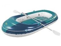 Rubber Dinghy Two Man. 260kg capacity.