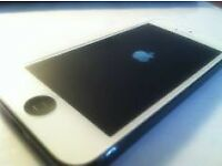 White iPhone 5s 32gb with black homebutton