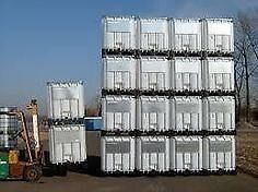 1000 liter FOOD GRADE totes just in