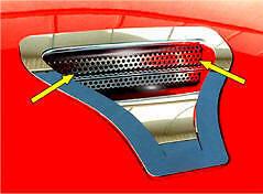 Dodge Viper 1992-2002 Perforated Hood Scoop Grille Trim ACC-962013