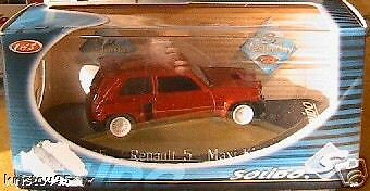 RENAULT 5 TURBO MAXI KIT 1986 SOLIDO 1865 1/43 RACING