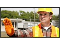 TRAFFIC MARSHAL COURSE ON-LINE UK's#1 . At your comfort, pace & Jobs. £75.00 .